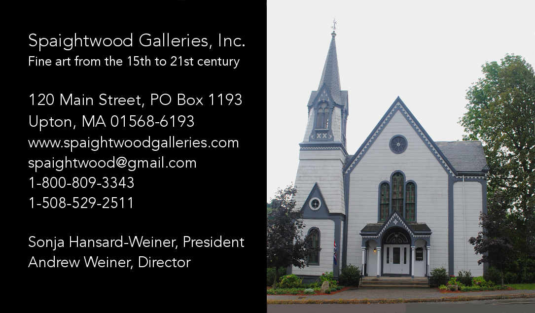 Welcome to Spaightwood Galleries, Inc.