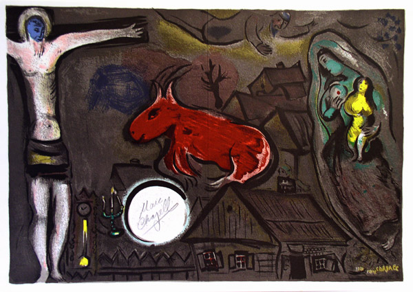 Marc Chagall and the Bible: Marc Chagall's Out-of-series ... Chagall Crucifixion