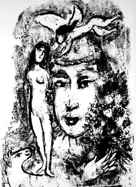 Marc Chagall (Russia, 1887-1985, France) in Black and White
