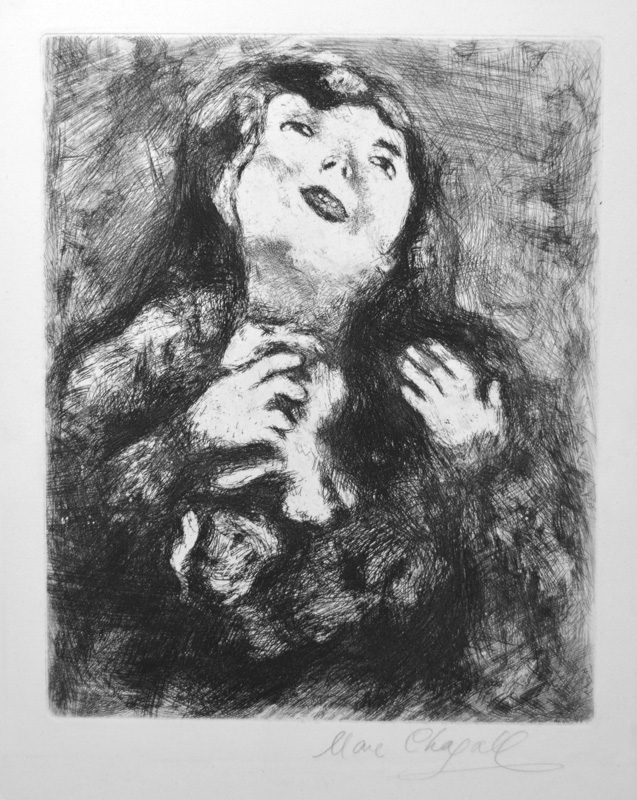 Marc Chagall signed original etchings and lithographs