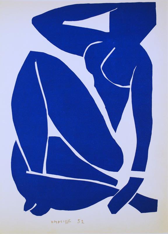 Matisse Blue Nude Ii 119
