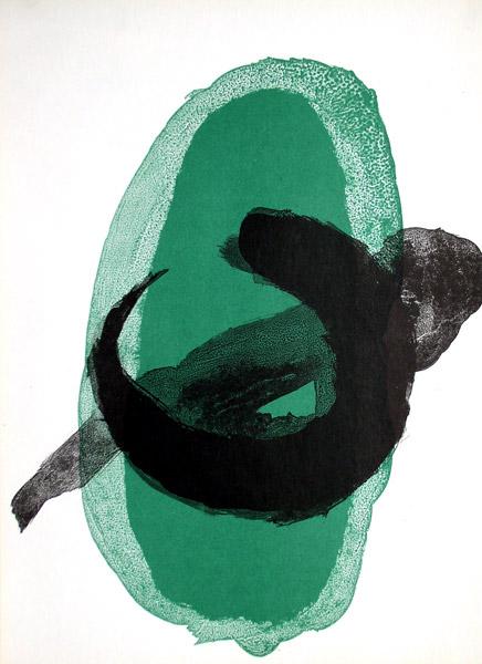 Joan mir original prints 1961 for Derriere le miroir miro
