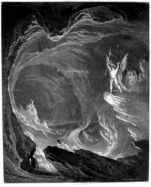 dante s and milton s visions of hell American imperialism leads the world into dante's vision of proof no longer seems to matter in the rush to further transform the world into dante's vision of hell.