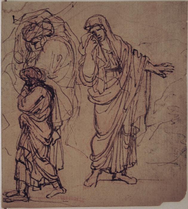 Rubens Figure Drawings Old Master Drawings: P...