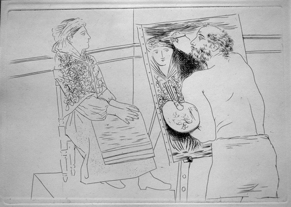 Line Art By Picasso : Home ledor fine art original prints drawings and paintings